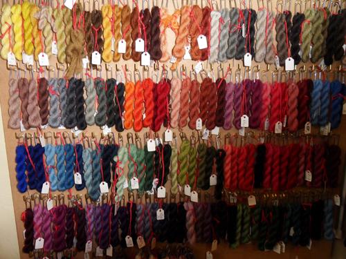 laine pour tapisserie