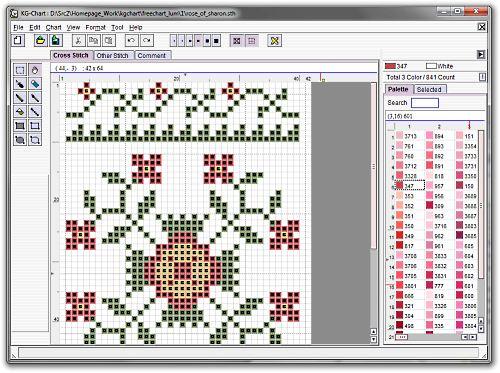 logiciel point de croix dmc