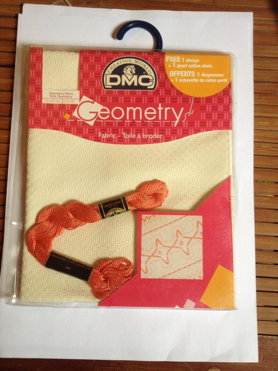 toile geometry dmc