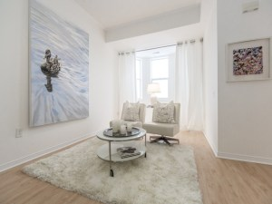 An image of living room for 760 Lawrence Ave. West in Toronto