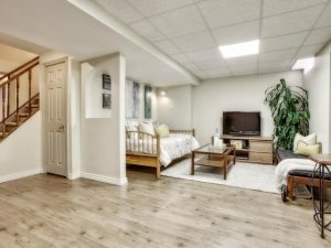 An image of the finished basement for 830 Surin Crt in Newmarket