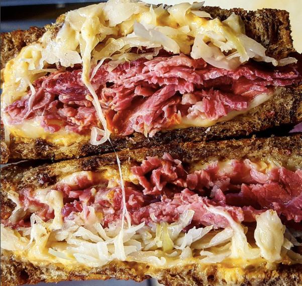 NY Reuben sandwich salem ma