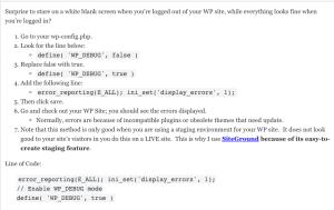 debug mode true and display