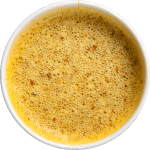 Ginger and turmeric broth blend