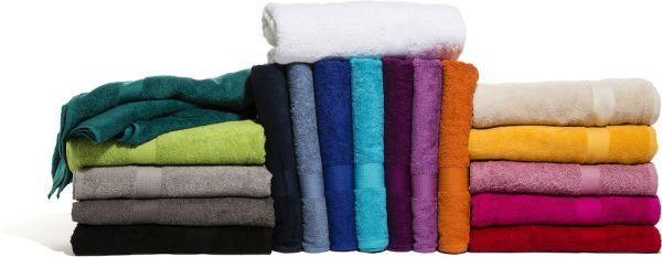 Frotté handdukar i 18 härliga färger