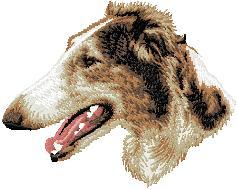 Hundbrodyr Borzoi