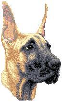 Hundbrodyr Grand danois valp kuperad