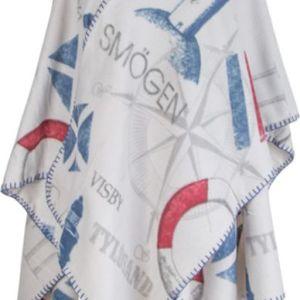 Brodyrverksta´n Ab - Poncho i fleece med maritimt tema