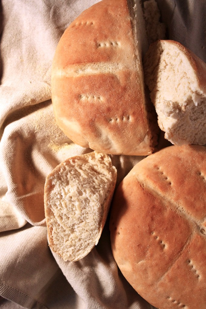 Moroccan Bread- Get a little taste of morocco with this easy and straightforward recipe. This is the real deal ! -BrokeFoodies.com