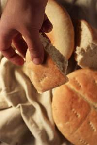 Moroccan Bread- Get a little taste of morocco with this easy and straightforward recipe. This is the real deal ! -Idrisstwist.com