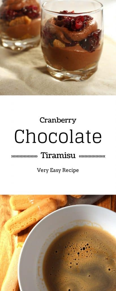 Cranberry Chocolate Tiramisu
