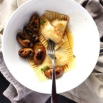 Vegan Ravioli Recipe, Fresh Dough & Creamy Filling