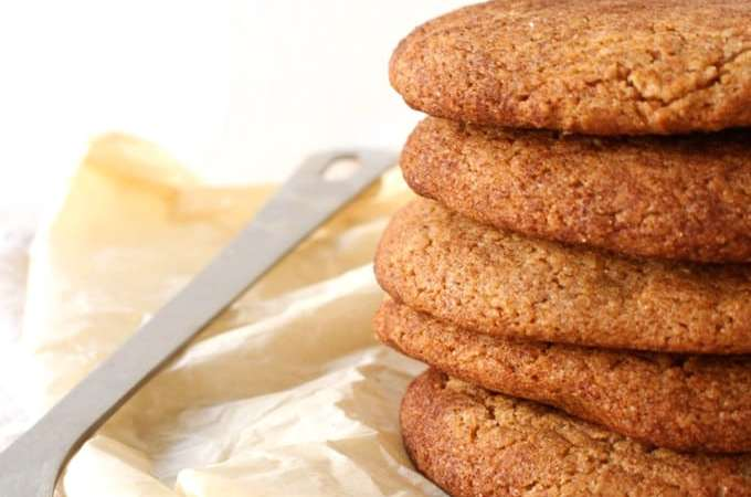 Soft & Chewy Vegan Apple Butter Cookie Recipe