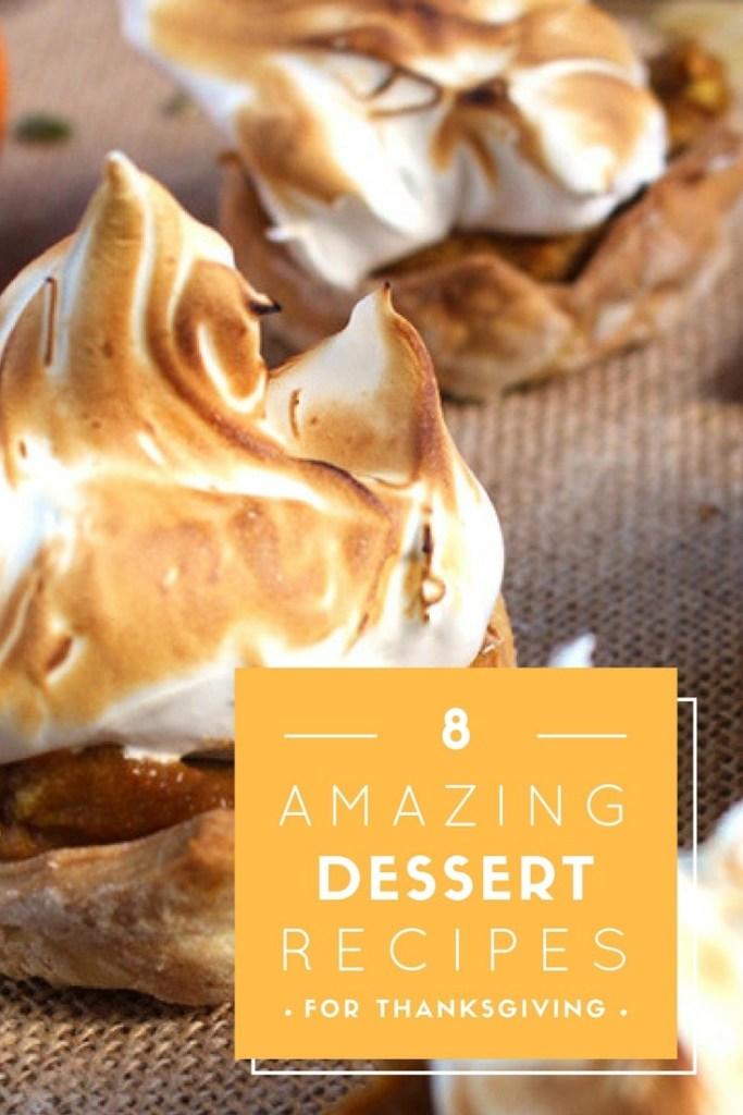 8 Amazing Thanksgiving Dessert recipes   Brokefoodies.com