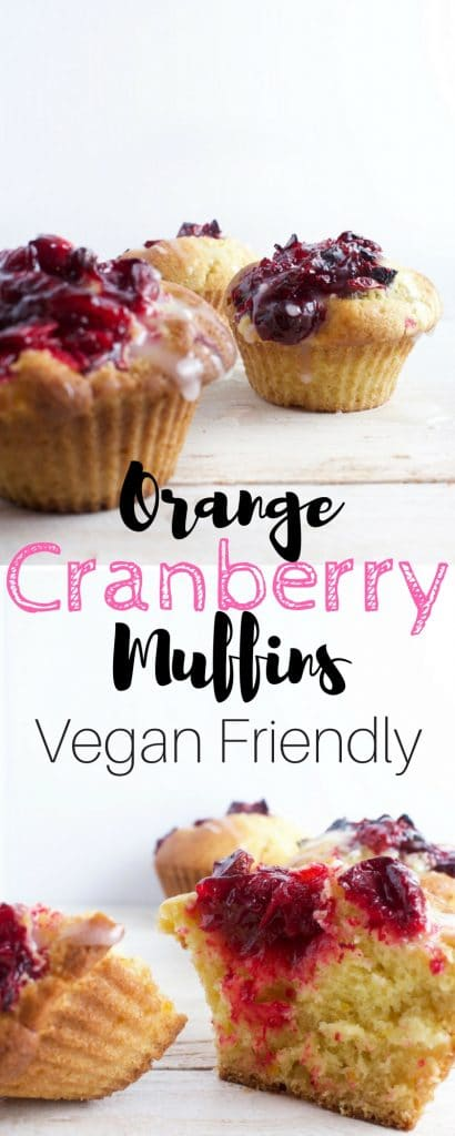 Cranberry Orange Muffins - Get your bake on with these easy and delicious orange-cranberry muffins. These are, sweet, zesty and built to satisfy.