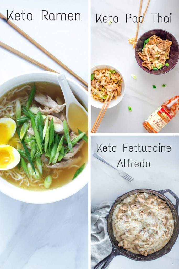Keto Shirataki Noodle Recipes