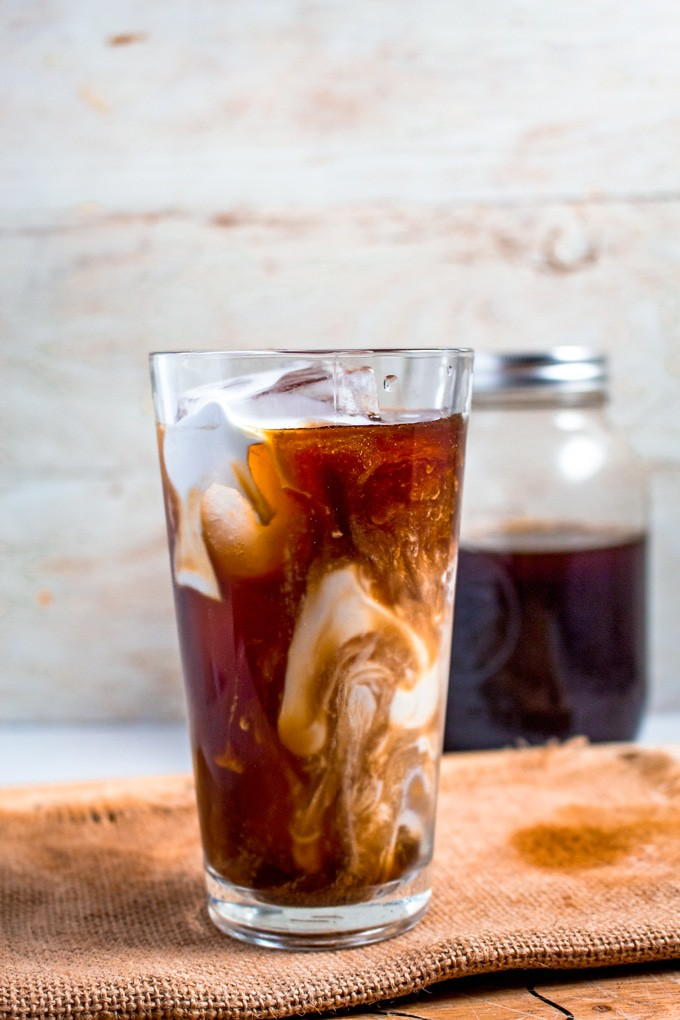 Cold Brew Coffee   This refreshing coffee is made using a classic cold brew technique and made to fit within your low-carb/Keto lifestyle.