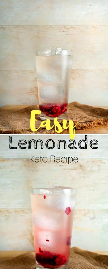 Keto lemonade | If you're looking for a sweet & sugar-free drink for the summer, this is it.