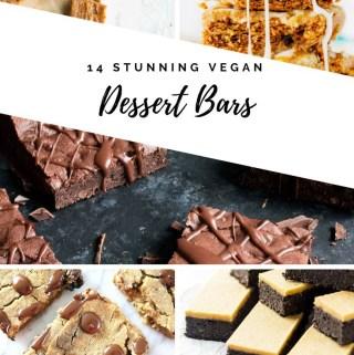 14 Stunning Vegan Dessert Bars