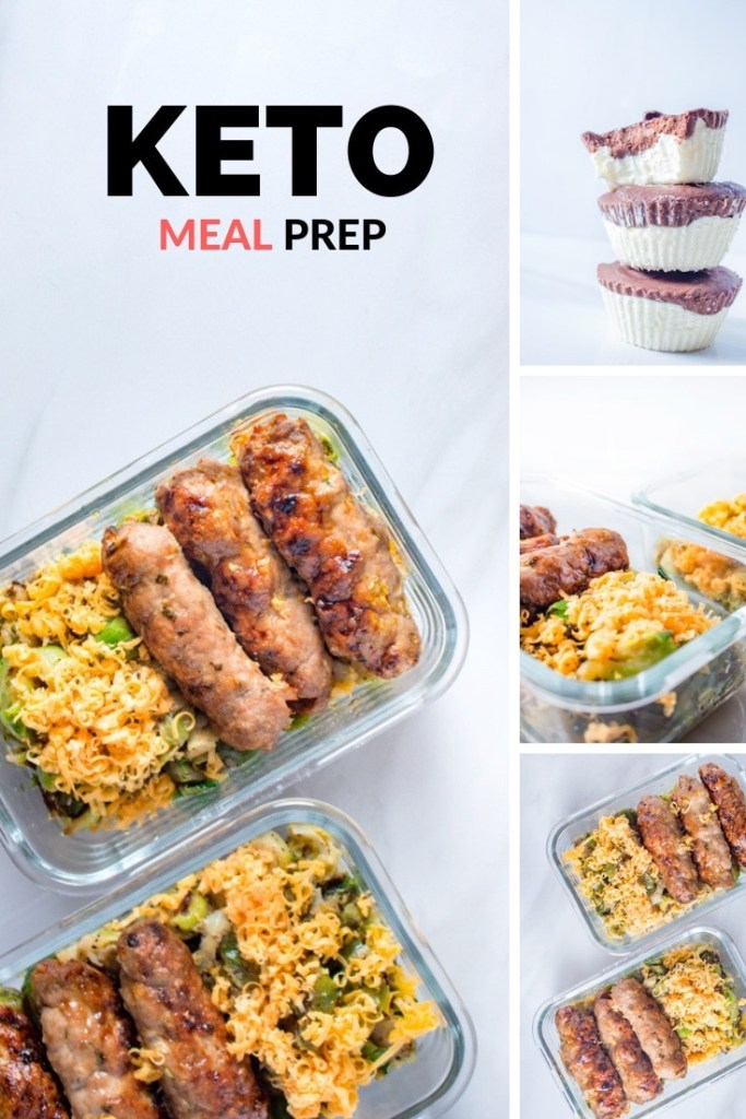 Turkey Kebabs in a Glass Topperware and Cheesy Brussel Sprouts