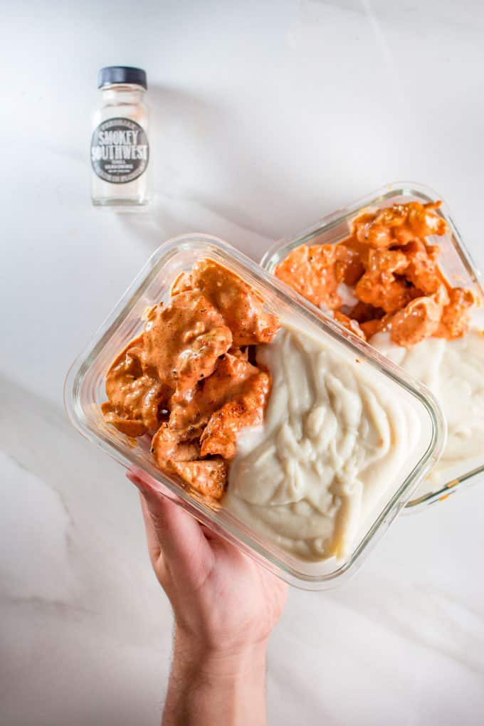 Keto Buffalo Chicken Meal Prep