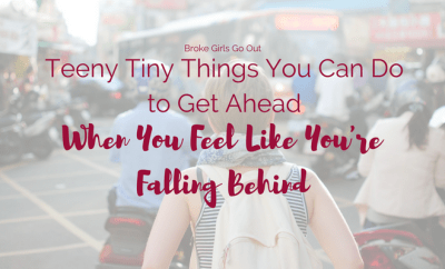 tiny things you can do to get ahead