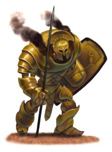 Torn World Sisk Light War Golem