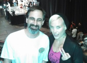 Rowdy Bec Rawlings and me