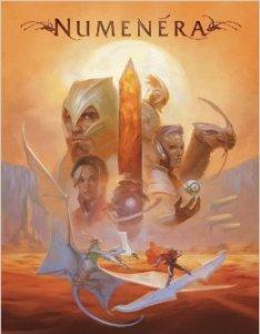 Numenera Rulebook Cover