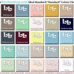 Ideal Bathroom colourchart