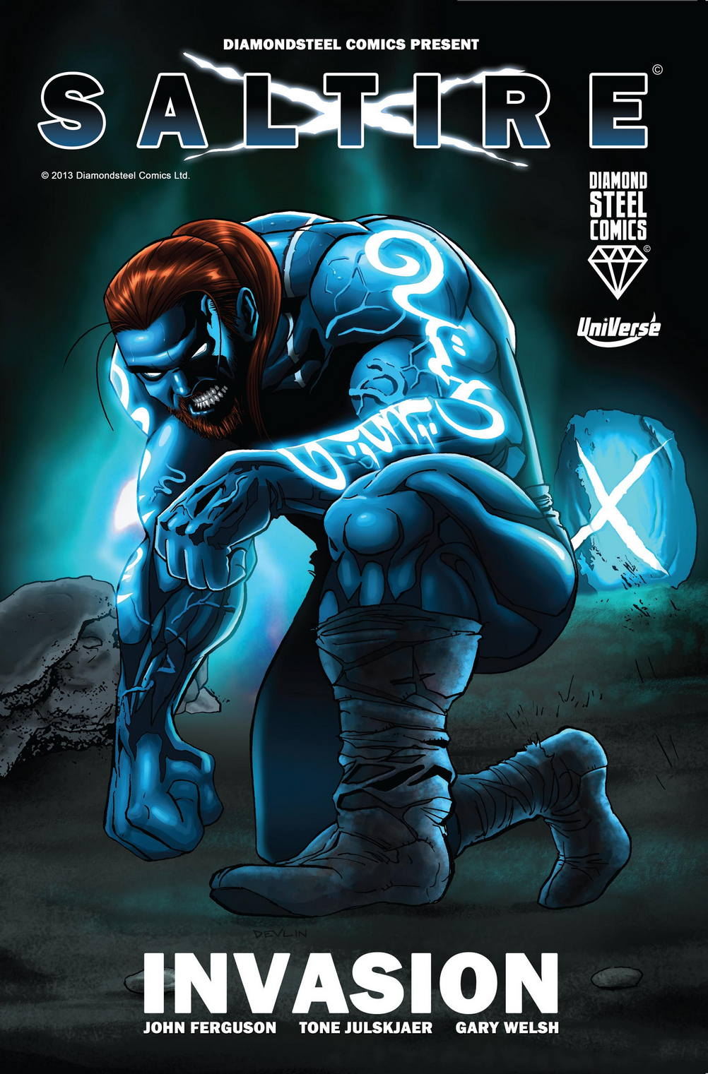 Scottish Superhero Launches At Dundee