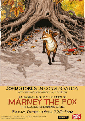 Marney the Fox - The Stunning Scott Goodall and John Stokes 1970s Wildlife Epic Collected in Rebellion's Treasury of British Comics Series