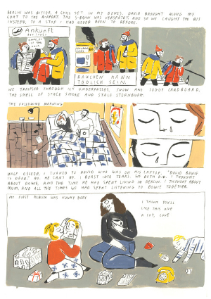 """I Hope that if My Work Has Done Just One Thing, It Has Made Someone Feel Less Alone"" - Jayde Perkin Talks about Exploring Loss and Grief on the Comics Page"