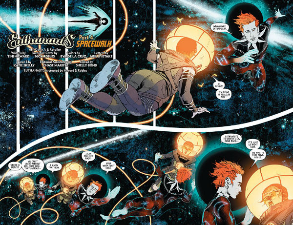 Euthanauts: Ground Control - Howard, Robles and Company Navigate the Mysteries of the Great Beyond in this IDW/Black Crown Collection
