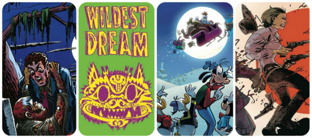 Staff Picks for December 4, 2019 - Choke Gasp!: The Best of 75 Years of EC Comics, Wildest Dream, Thor: The Worthy and More!