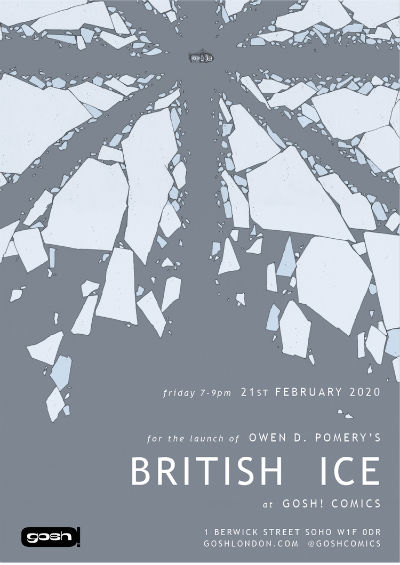 British Ice - Owen D. Pomery's Bleak Thriller Explores the Legacy of Empire and the Devastating Consequences of Colonialism