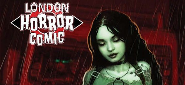 London Horror Comic #8 - The UK  Supernatural Small Press Anthology Returns with Tales to Amuse and Chill