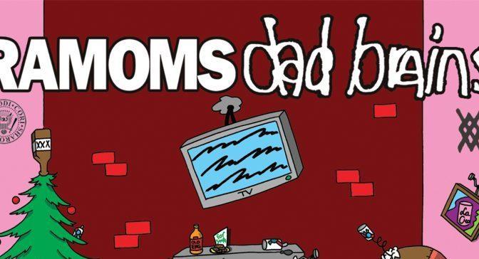 Album Review: Ramoms / Dad Brains – <I>Merry XMas</I> Spilt 7″
