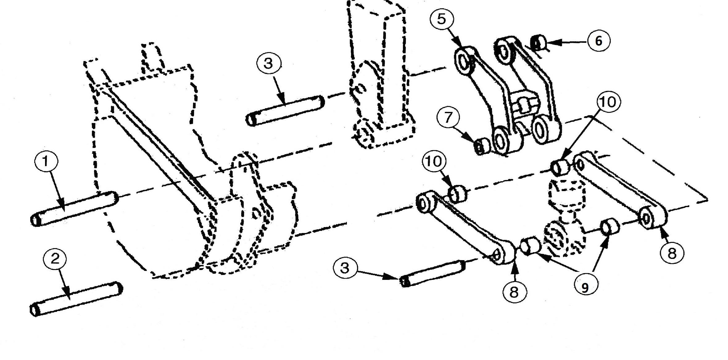 Cat Backhoe Parts