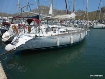 velero crucero regata Beneteau First 405