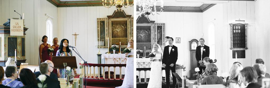 bröllop kinna svenasjö kapell sång