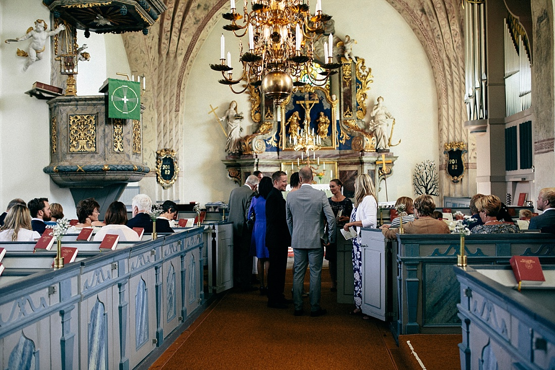 bröllop börstils kyrka