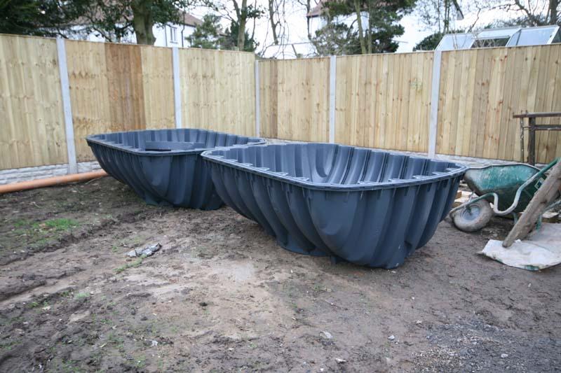 Rainwater harvesting tank parts