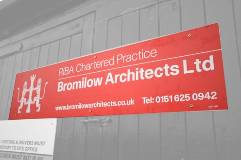 Bromilow Architects Ltd Signboard