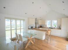 New Extension and kitchen area to Sandstone Cottage