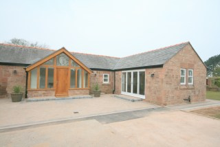Sandstone cottage external
