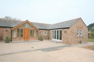 Sandstone cottage external