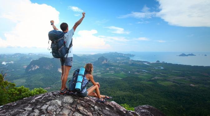 gambar gunung - travelling