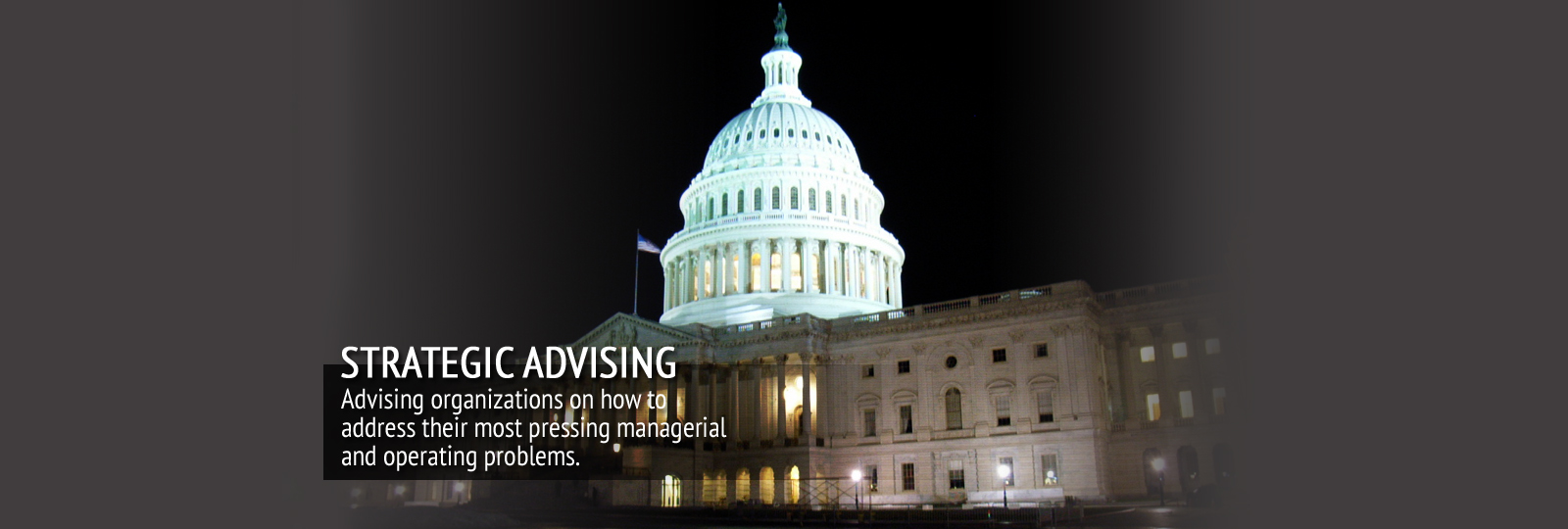 Slide 2 – Strategic Advising