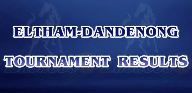 eltham dandy tournament results